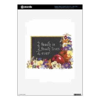 Teacher Tribute Gifts iPad 3 Decals