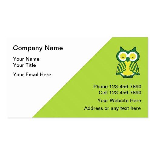 Teacher Tutor Business Cards Zazzle
