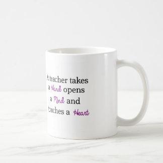 Teacher Unique Quote Gift Coffee Mug