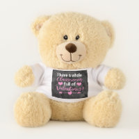 Teacher Valentine's Day Teddy Bear