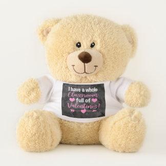 Teacher Valentine's Day Teddy Bear
