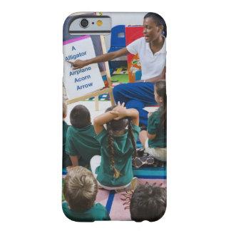 Teacher with preschool students in classroom iPhone 6 case