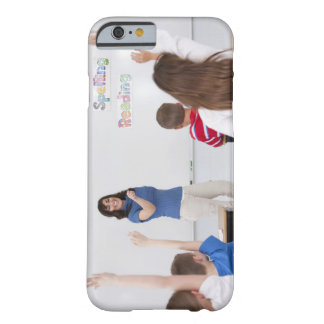 Teacher with students barely there iPhone 6 case