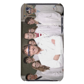 Teacher with students in science class iPod Case-Mate case