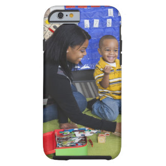 Teacher with toddler in daycare tough iPhone 6 case