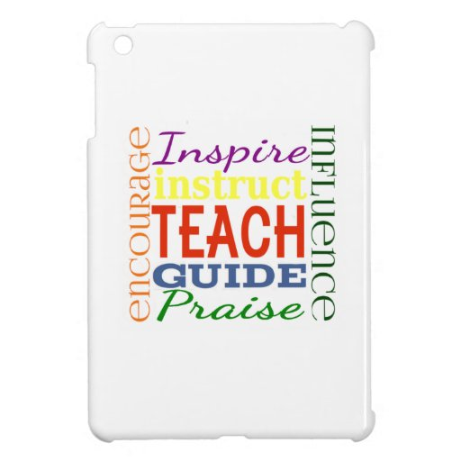 Teacher Word Picture Teachers School Kids Case For The iPad Mini
