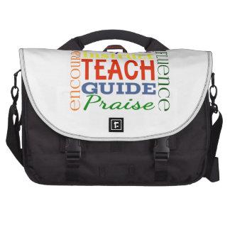 Teacher Word Picture Teachers School Kids Computer Bag