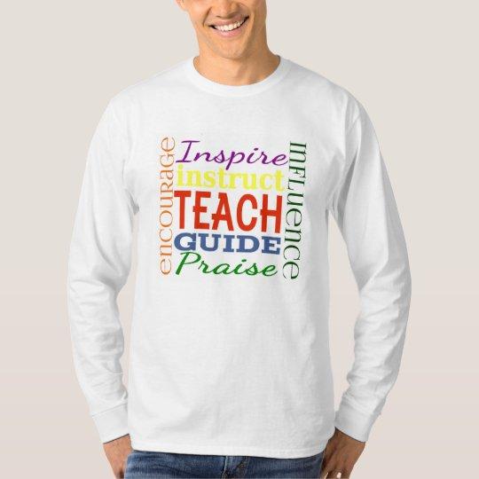 Teacher Word Picture Teachers School Kids T-Shirt