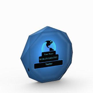 Teacher World's Greatest Custom Award