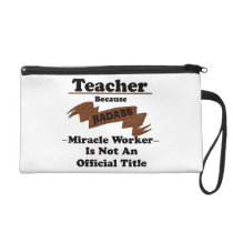 Teacher Wristlet Purse
