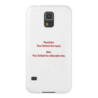 Teacher : You Failed The Test Case For Galaxy S5