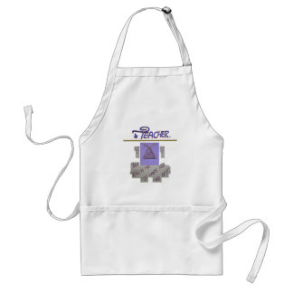 Teacher You Teach Me To Hope for the Best.png Adult Apron