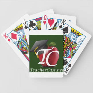 TeacherCast Bicycle Playing Cards