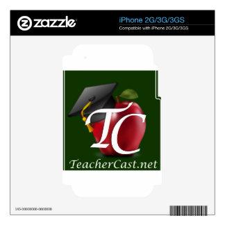 TeacherCast Decal For The iPhone 2G