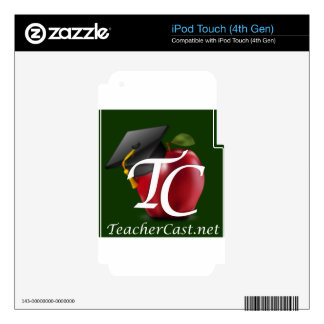 TeacherCast Decals For iPod Touch 4G