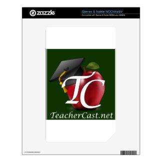 TeacherCast NOOK Color Decal