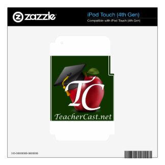 TeacherCast Skin For iPod Touch 4G