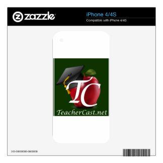 TeacherCast Skin For The iPhone 4