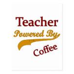 Teacheri accionó por el café postal