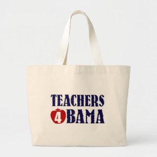 Teachers 4 Obama Canvas Bag