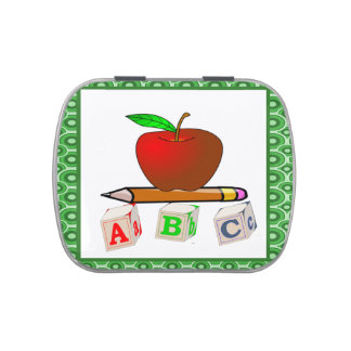 Teachers' ABC's Personalize Candy Tin