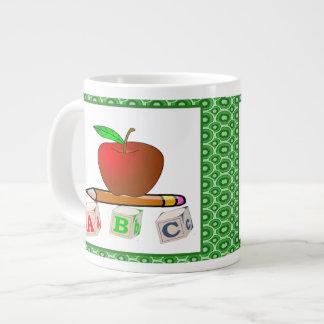 Teachers' ABC's Personalize Large Coffee Mug