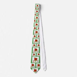 Teachers' ABC's Personalize Neck Tie