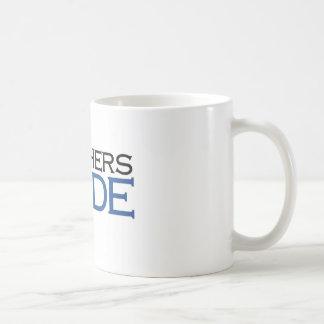 Teachers Abide (blue pedagogy) Coffee Mug