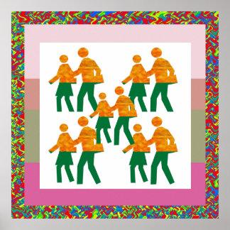 Teacher's aid : Kinder Garden Decorations Print