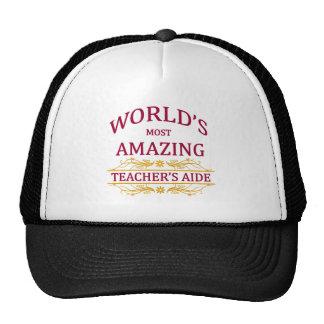 Teacher's Aide Trucker Hats