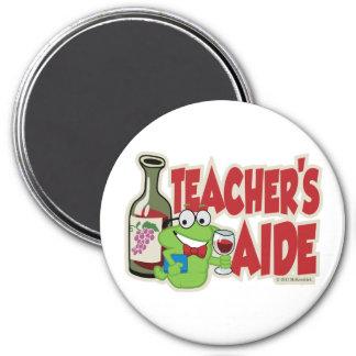 Teacher's Aide (Wine) Refrigerator Magnet