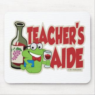 Teacher's Aide (Wine) Mouse Pad
