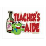 Teacher's Aide (Wine) Post Cards