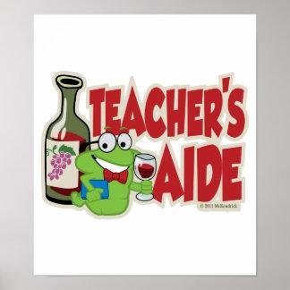 Teacher's Aide (Wine) Poster