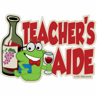 Teacher's Aide (Wine) Statuette