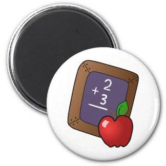 Teacher's Apple 2 Inch Round Magnet