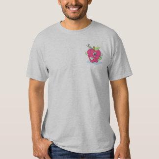 Teachers Apple Embroidered T-Shirt