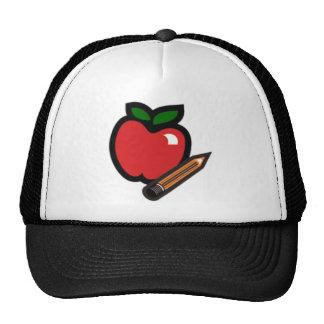 Teachers Apple Mesh Hats