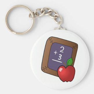 Teacher's Apple Keychain
