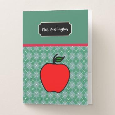 Aztec Themed Teacher's Apple Lesson Plan School Folders