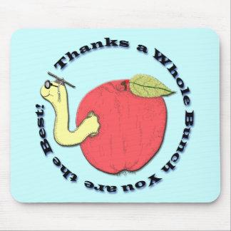 Teacher's Apple Mousepad