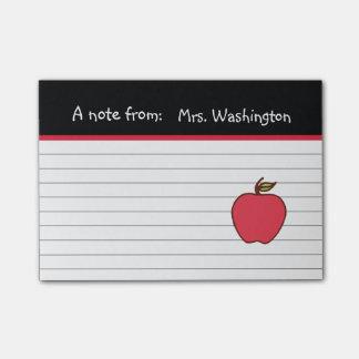 Teacher's Apple Post It Notes Post-it® Notes