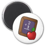 Teacher's Apple Refrigerator Magnets