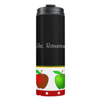 Teachers Apples Custom Thermal Tumbler
