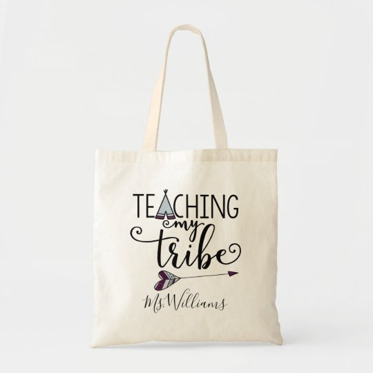 Teacher S Appreciation Personalized Tote Bag Gift