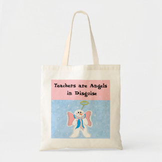 Teachers are Angels - Holiday Totebag Tote Bag