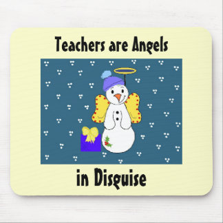 Teachers are Angels in Disguise Mouse Pad