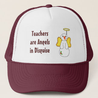 Teachers are Angels in Disguise Trucker Hat