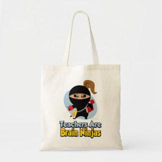 Teachers Are Brain Ninjas Budget Tote Bag