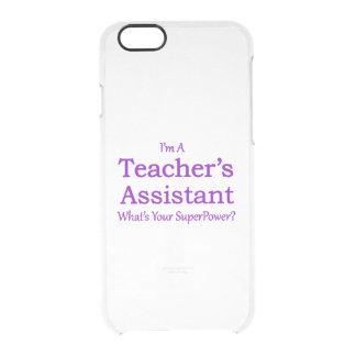 Teacher's Assistant Clear iPhone 6/6S Case